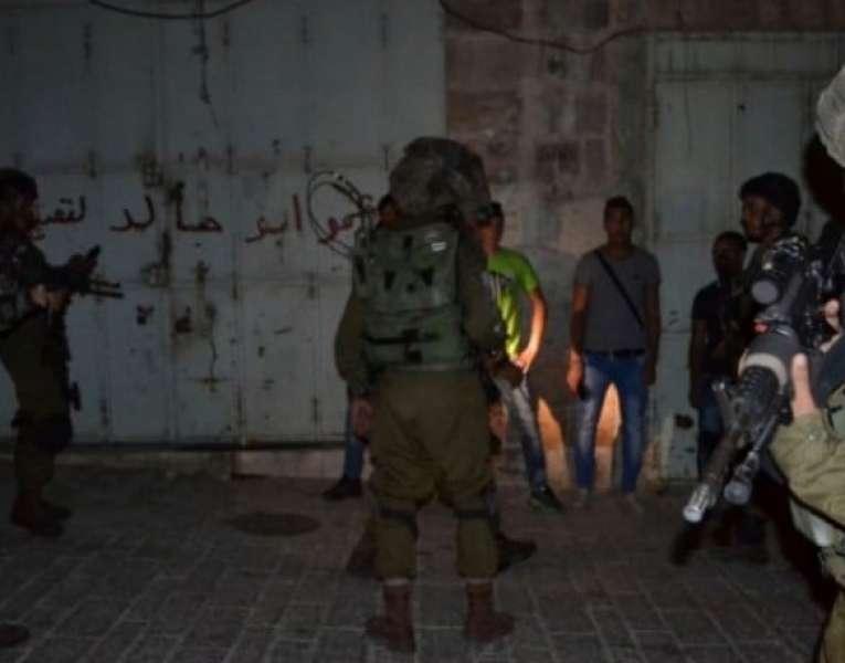 اعتقال 4 مواطنين من جنين ونابلس