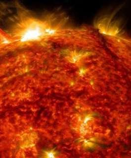 الأقمار الصناعية تسجل أكبر توهج شمسي خلال السنوات الأخيرة