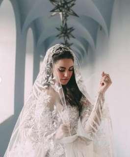 شاهد: درة تزدان بفستان زفاف فلسطيني.. وتوصل رسالة قوية