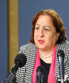 وزيرة الصحة تجدد مطالبتها المجتمع الدولي لحماية الأسرى داخل السجون الإسرائيلية