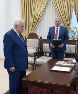 المستشار عيسى أبو شرار يؤدي اليمين القانونية أمام الرئيس رئيسا لمجلس القضاء الأعلى