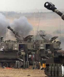 مدفعية الاحتلال تقصف أهداف شمال ووسط قطاع غزة