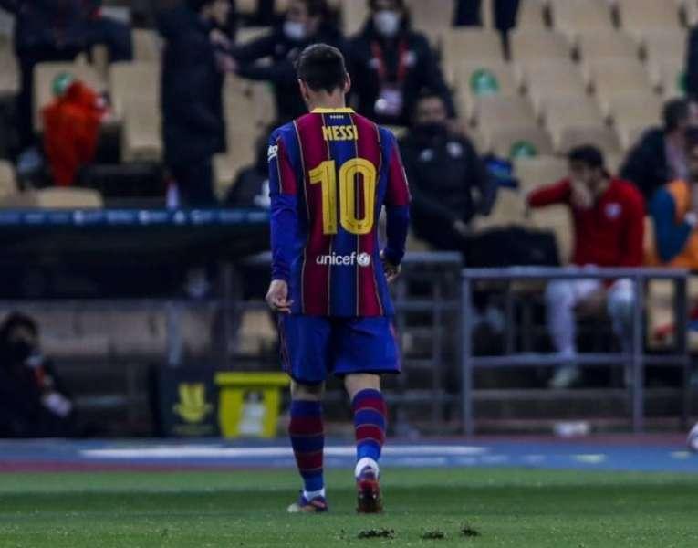 برشلونة يقرر الطعن على إيقاف ميسي مباراتين