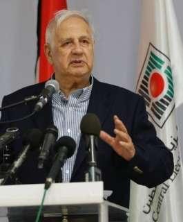 حنا ناصر يجتمع بالفصائل الفلسطينية غدا لبحث الترشح للانتخابات
