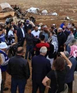 المئات يشاركون في فعالية ثقافية لنصرة خربة حمصة الفوقا