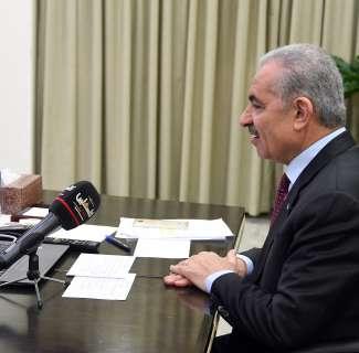 اشتية يستقبل السفير الهندي الجديد في فلسطين
