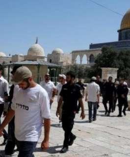 المتطرف غليك يقود اقتحام المستوطنين للمسجد الأقصى