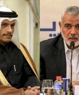 هنية لخارجية قطر: أي تلكؤ في إجراء الانتخابات يعني مكافأة الاحتلال