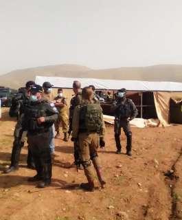الاحتلال يواصل اجتياح عقربا ويحاصر منشأة زراعية