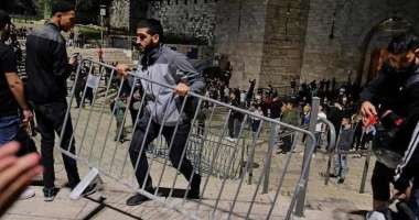 الاحتلال يُقرر منع الفلسطينيين من الدخول عبر باب العامود يوم 28 رمضان