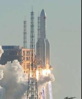 الصاروخ الصيني سيحلق فوق هذه المنطقة بفلسطين في هذه الساعة ..