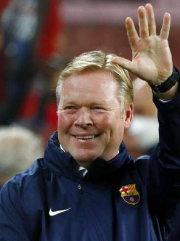 برشلونة يقرر إقالة كومان ويحدد مدربين لخلافته