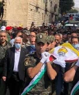 الآلاف يشيعون جثمان الأسير المحرر الشهيد حسين مسالمة في بيت لحم
