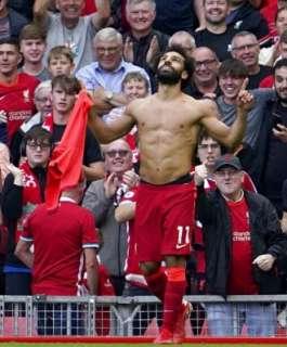 هاتريك لمحمد صلاح..ليفربول يسحق مانشستر يونايتد بخماسية