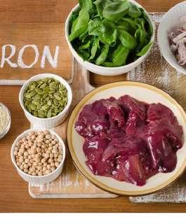 أعراض خطيرة لنقص الحديد في جسم الإنسان