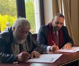 اتحاد الكتاب والأدباء الفلسطينيين يوقّع اتفاقية تعاون مع نظيره الداغستاني